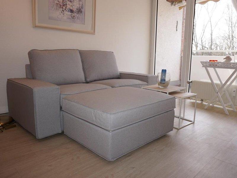 LuM24 - Strandnahe Ferienwohnung für 3 Personen, casa vacanza a Duhnen