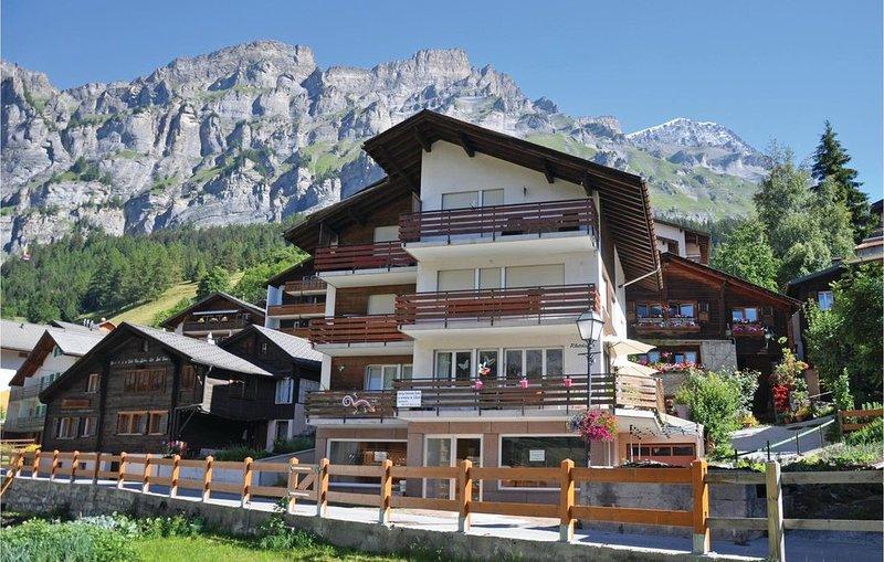 1 Zimmer Unterkunft in Leukerbad, location de vacances à Leukerbad