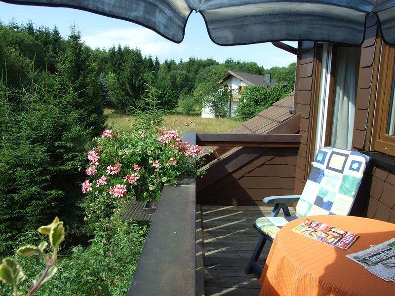 Ferienwohnung 'Zum Seifengrund' - mit Balkon und kostenfreies WLAN, holiday rental in Drognitz