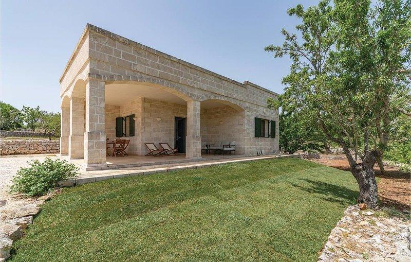 2 Zimmer Unterkunft in Contrada Foragno, alquiler de vacaciones en Certosa