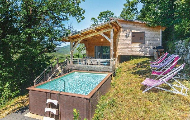 3 Zimmer Unterkunft in Bordezac, aluguéis de temporada em Le Martinet
