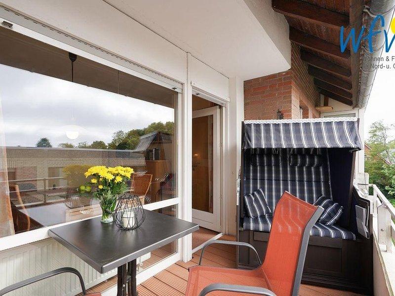 Gemütliche Ferienwohnung mit Balkon auf Borkum!, location de vacances à Borkum