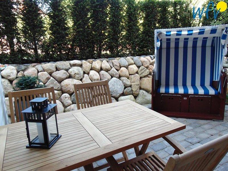 Unsere moderne Ferienwohnung mit herrlicher Terrasse garantiert Ihnen entspannte, location de vacances à Norderney