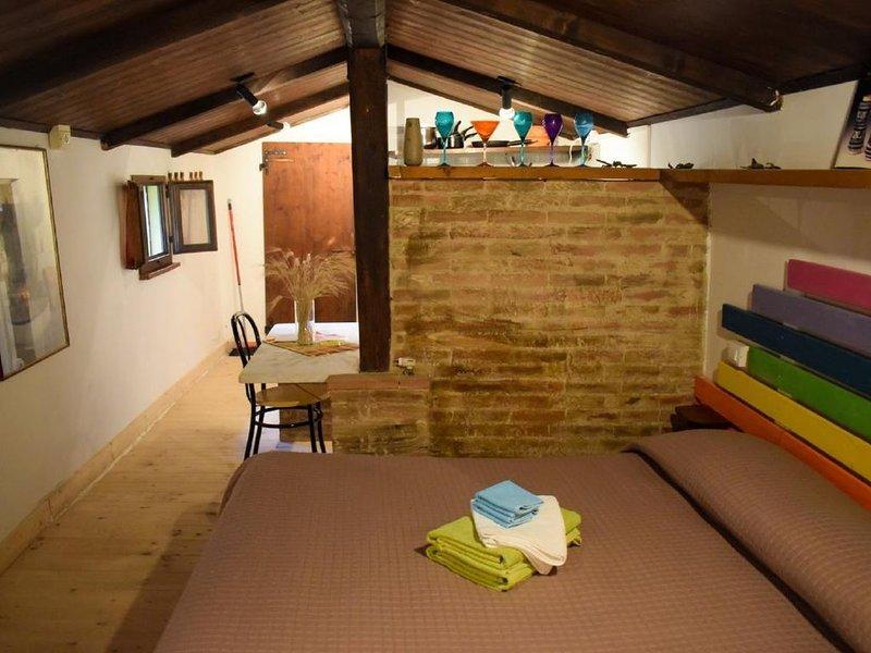 Ferienwohnung Cesano für 1 - 4 Personen - Ferienwohnung, vacation rental in Scapezzano