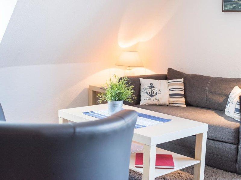 Möwe 4 - Helle, freundliche Ferienwohnung, Strandnähe für bis zu 4 Personen – semesterbostad i Cuxhaven