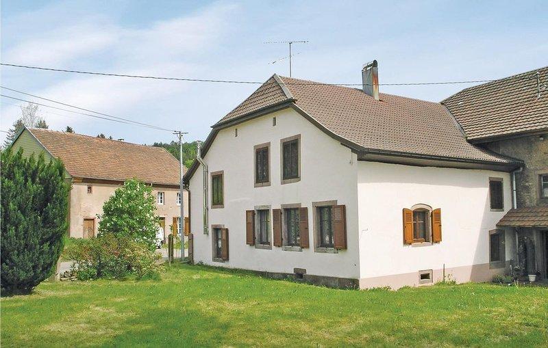 2 Zimmer Unterkunft in Plaine, vacation rental in Natzwiller