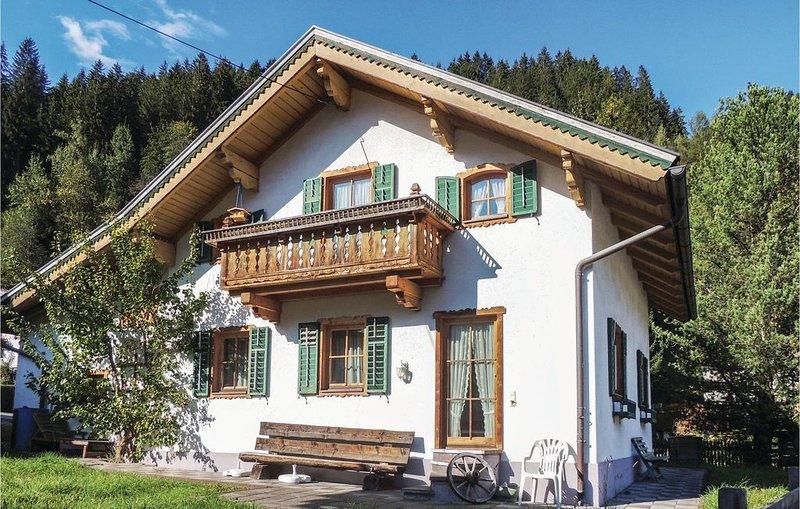 4 Zimmer Unterkunft in Neukirchen am Grossven., holiday rental in Schonbach