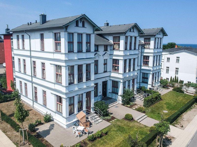 Autorenhaus Wohnung 1 'Franz Kafka', holiday rental in Seebad Ahlbeck