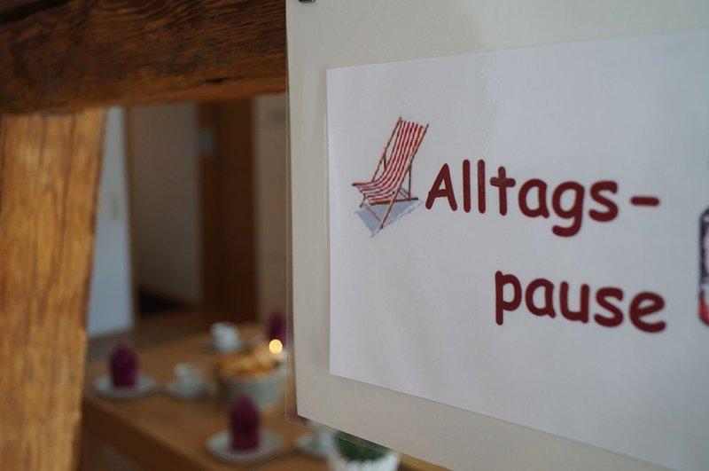 Großzügige Ferienwohnung mit eigenem Balkon, holiday rental in Volkach