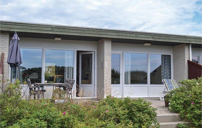 1 Zimmer Unterkunft in Hvide Sande, alquiler vacacional en Skodbjerge