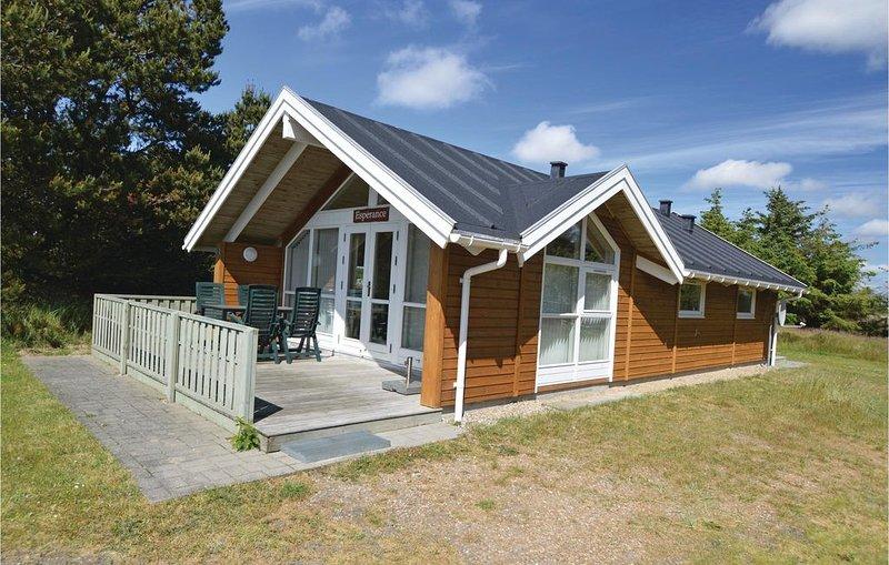 2 Zimmer Unterkunft in Blåvand, aluguéis de temporada em Blaavand