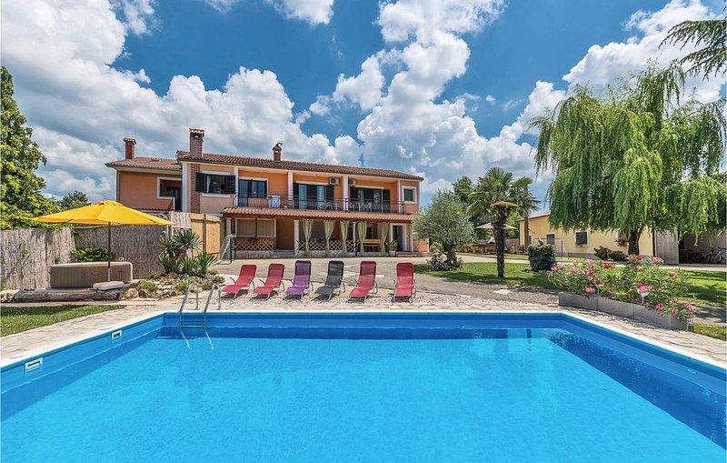 5 Zimmer Unterkunft in Pazin, holiday rental in Beram