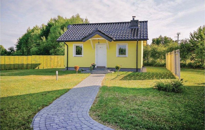 2 Zimmer Unterkunft in Dabki, location de vacances à Osieki