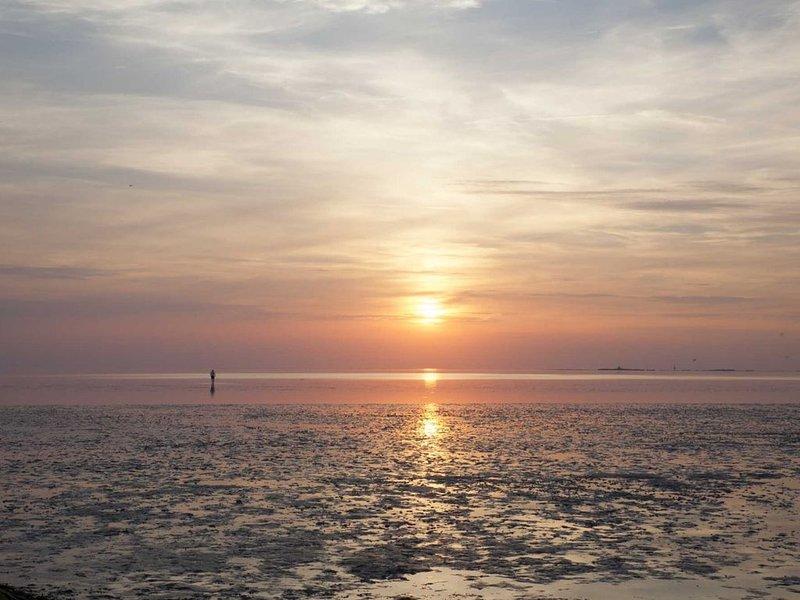 Evening mood on the beach