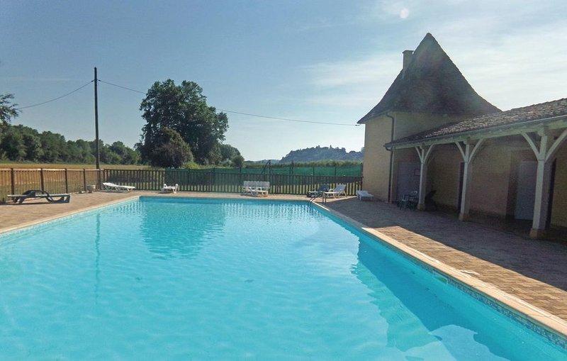 2 Zimmer Unterkunft in Limeuil, casa vacanza a Audrix