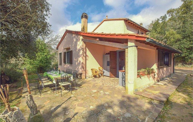 5 Zimmer Unterkunft in Sassetta, holiday rental in Sassetta