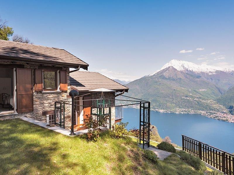 » Natur pur » See- und Bergpanorama, casa vacanza a Cremia