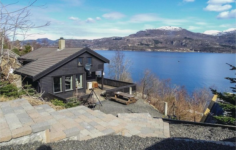 4 Zimmer Unterkunft in Ombo, holiday rental in Rogaland