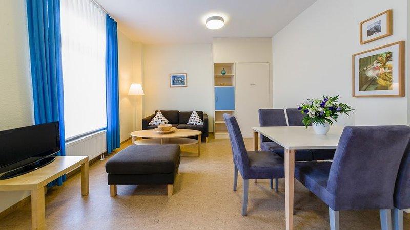 Ferienwohnung Typ A, 1 Schlafzimmer, 1 Wohn-/Esszimmer, max. 4 Personen, casa vacanza a Norderney
