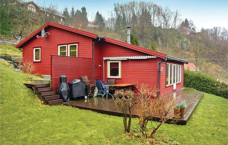 3 Zimmer Unterkunft in Lyngdal, location de vacances à Mandal Municipality