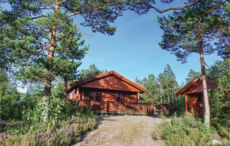 2 Zimmer Unterkunft in Åmli, Ferienwohnung in Nissedal Municipality