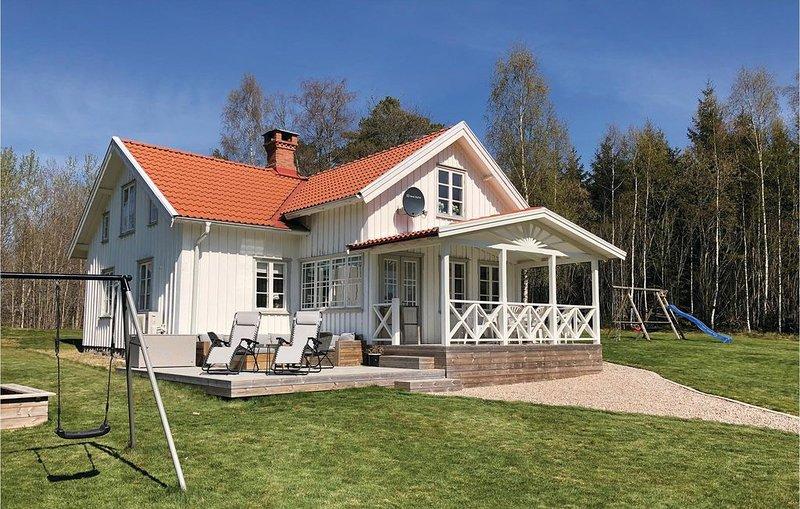 3 Zimmer Unterkunft in Sollebrunn, holiday rental in Alingsas