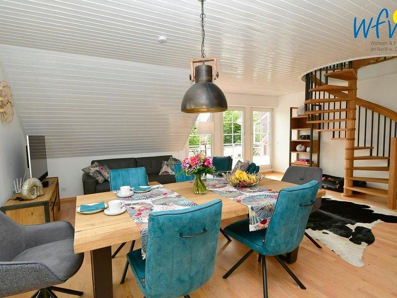 Moderne Ferienwohnung mit sonnigem Südbalkon!, location de vacances à Norderney