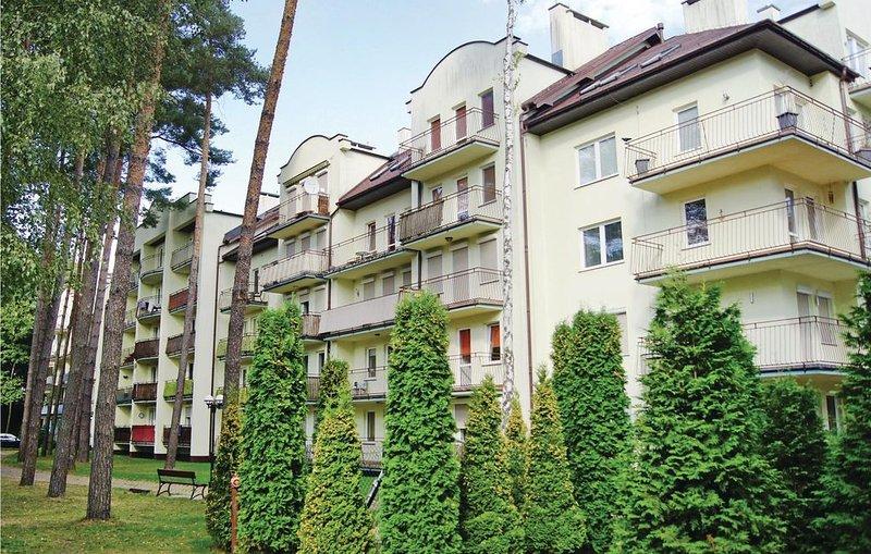 2 Zimmer Unterkunft in Miedzyzdroje, location de vacances à Miedzyzdroje