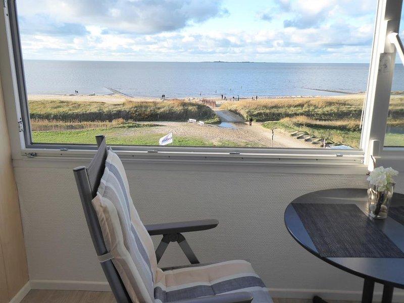 SAH 27 - Herrliche Wohnung mit freiem Seeblick und Schwimmbad – semesterbostad i Cuxhaven
