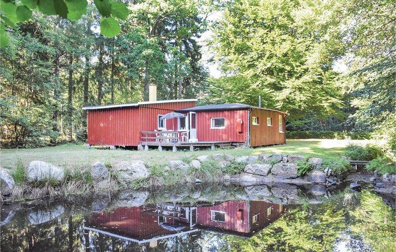 3 Zimmer Unterkunft in Tjörnarp, location de vacances à Horby