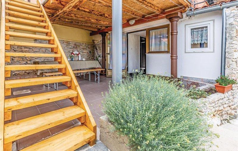 1 Zimmer Unterkunft in Liznjan, alquiler de vacaciones en Liznjan