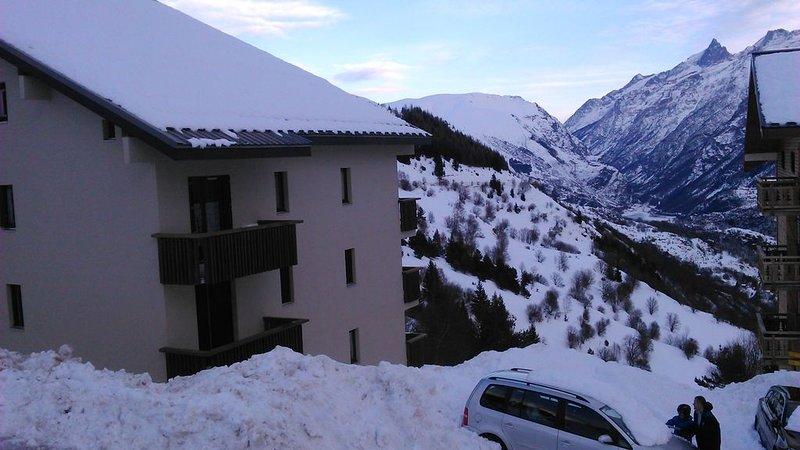 Location appartement à la montagne, holiday rental in Auris