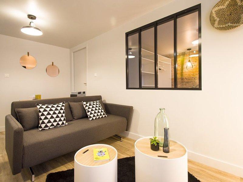 LE KIOSQUE - Une Chambre Appartement, Couchages 4, location de vacances à Quint-Fonsegrives