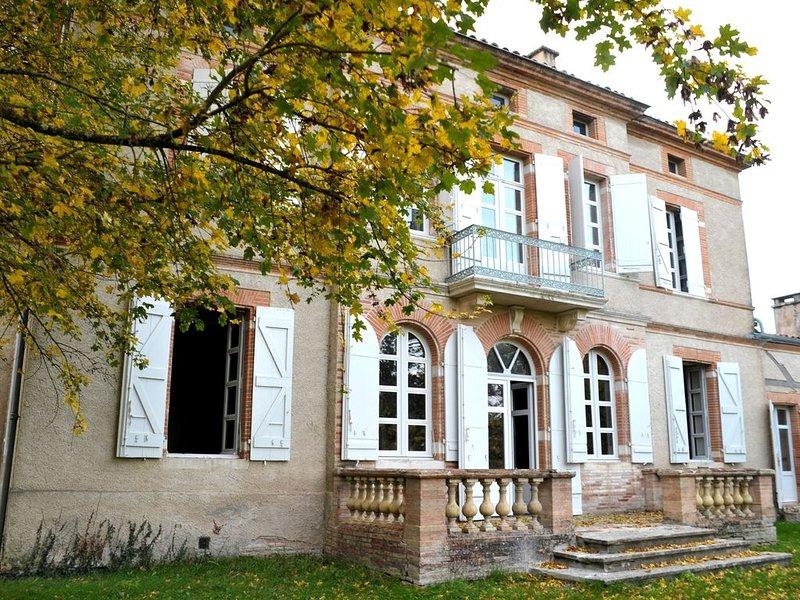 Roche, vivez la vie de château près de Toulouse !, casa vacanza a Paulhac