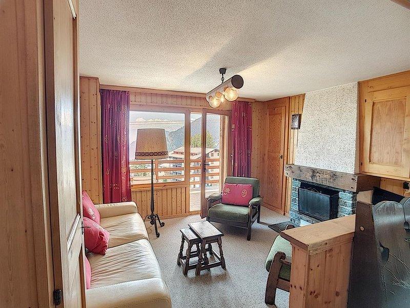 Appartement 2 pièces proche du départ du téléski de Médran.  Composition :  • Sa, vacation rental in Bagnes