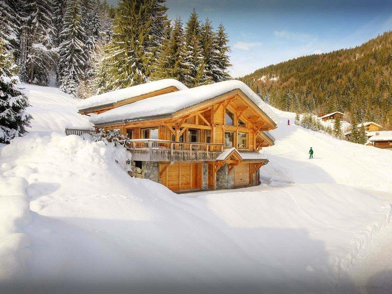 Chalet 5* skis aux pieds pour 8 avec sauna et salle de sport - OVO Network, holiday rental in La Clusaz