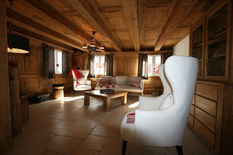 LES AUTHENTICS-LA MAISON - Le Domaine d'Autrefois & Spa **** Standing 10 Pers, holiday rental in Benfeld