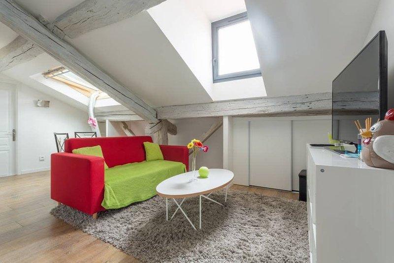 Dernier étage, tout équipé� Proche Hôpital #A5, holiday rental in Saint-Ismier