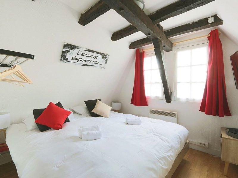 Charmant Studio authentique#Tours#PlacePlumereau, holiday rental in La Membrolle-sur-Choisille