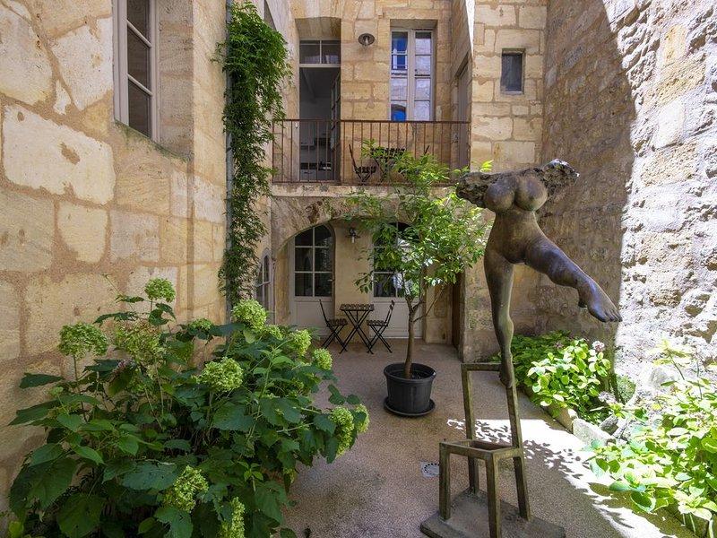 VENDANGES 36 - Joli studio avec terrasse, location de vacances à Lormont