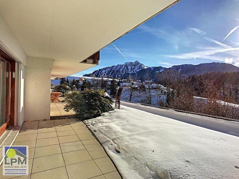 Domaine du Parc E101 Bel appartement de 2 ½ pièces pour maximum 2 adultes et 2 e, location de vacances à Le Sepey