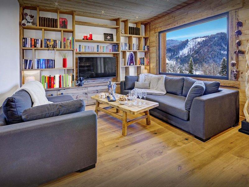 Beau chalet 4 étoiles à 150 m des pistes - OVO Network, holiday rental in La Clusaz