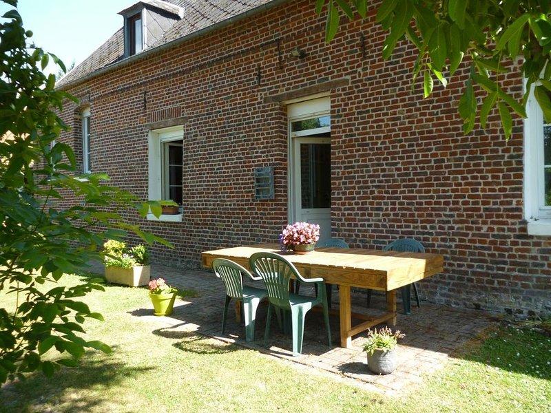 Beauvoir-Wavans : dans le pays des 7 Vallées maison pour 4 personnes., casa vacanza a Saint-Pol-sur-Ternoise