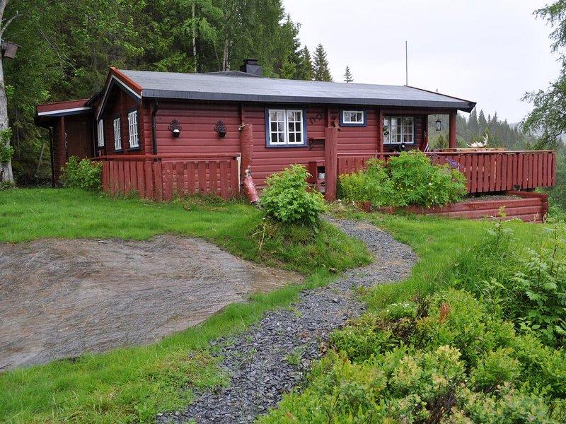 Comfortabele, traditionele, geheel vrijstaande hut voor 4 tot 6 personen, alquiler de vacaciones en Trondelag