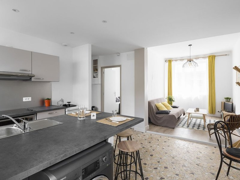 MOSAIK, Charmant appartement Nantais, aluguéis de temporada em Saint Herblain