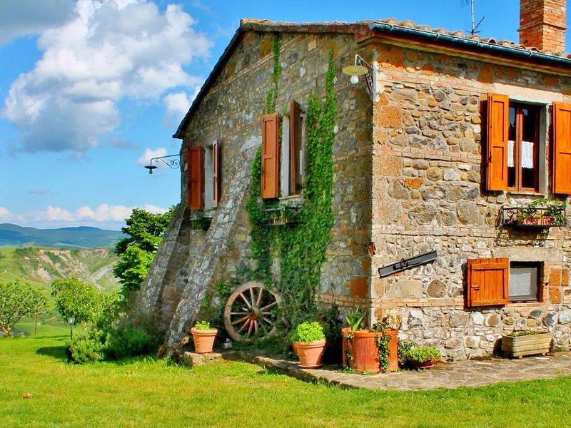 Villa Radi in Siena Area, Tucany, aluguéis de temporada em Radicofani