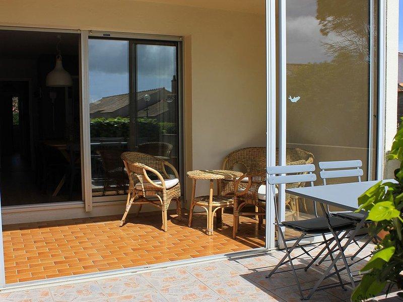 Un appartement 3-en-1 pour 4 en Vendée, location de vacances à Saint-Gilles-Croix-de-Vie