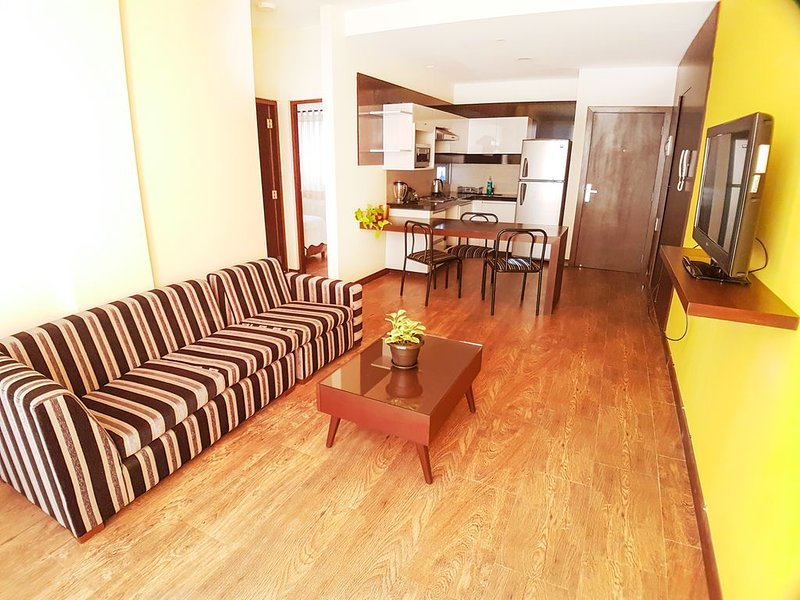 Hermoso depto. de dos dormitorios, holiday rental in Santa Cruz Department