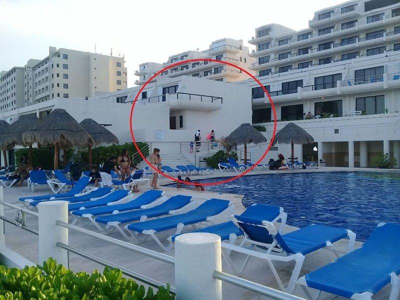 Departamento frente al mar, vacation rental in Cancun