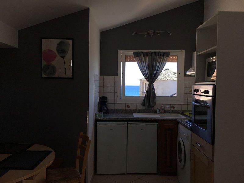 Appartement 4 personnes, résidence bord de mer, alquiler de vacaciones en San Giuliano